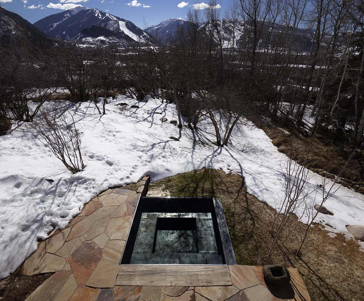 Jacuzzi, La Muna, Aspen, Colorado by Oppenheim Architecture + Design