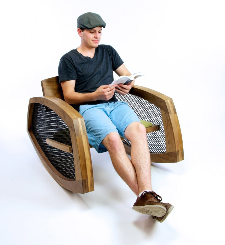 Rocking Chair No.1 by Brendan Gallagher