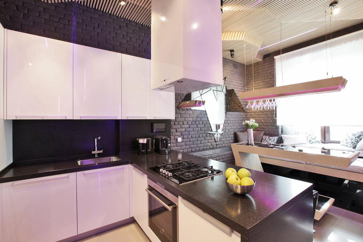 Parametrix Kitchen in Moscow by Geometrix Design