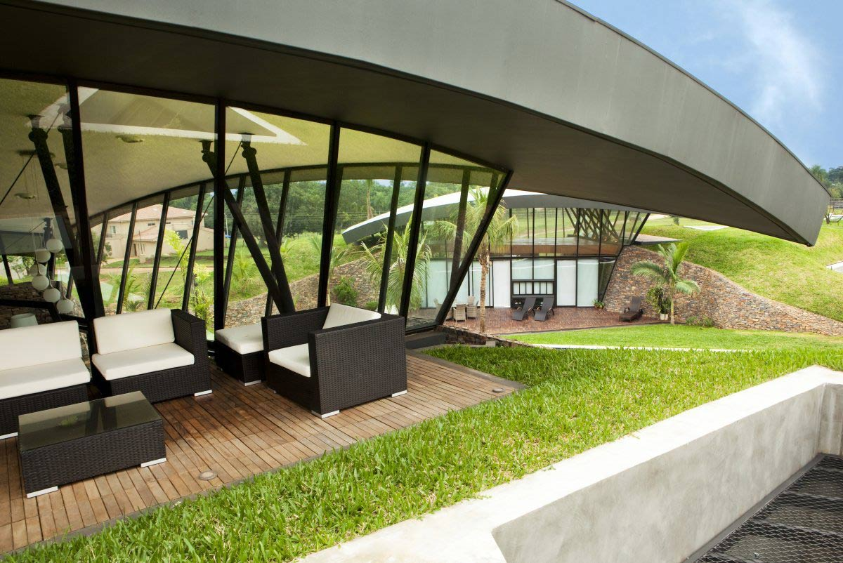 Outdoor Living, Two Homes in Luque, Paraguay, by Bauen