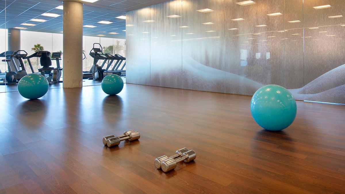 Gym w hotel barcelona by ricardo bofill for Spa hotel w barcelona
