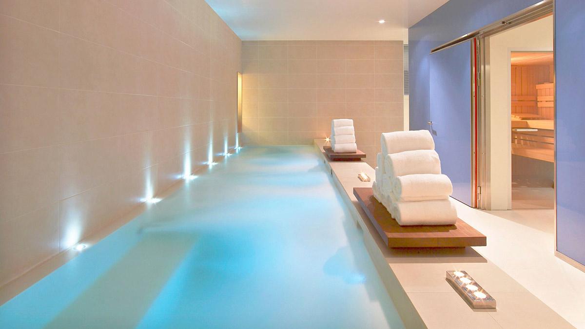 Spa Pool, W Hotel, Barcelona by Ricardo Bofill