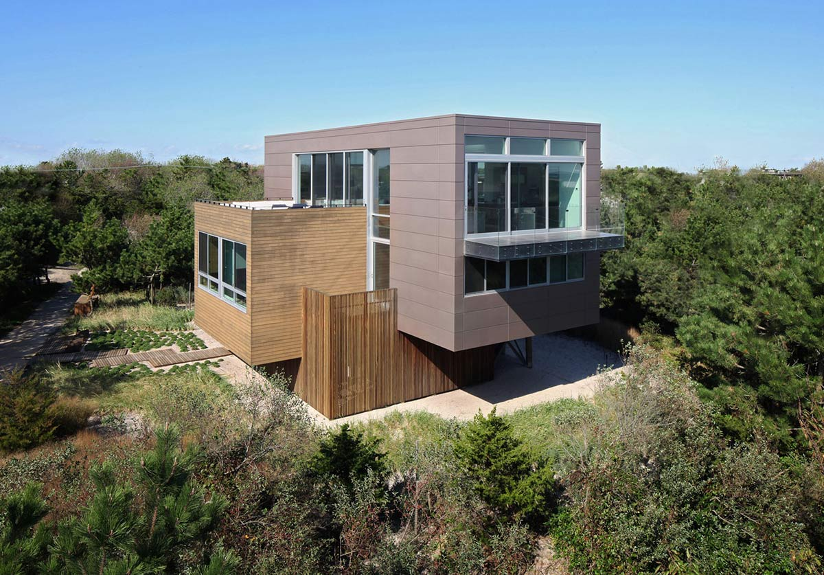 Beach Walk House, Fire Island, New York