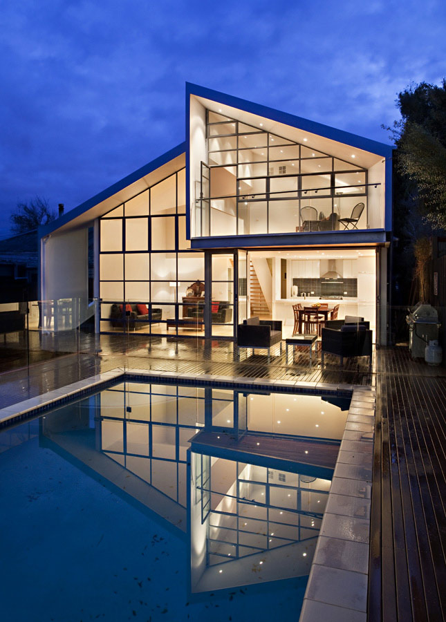 Outdoor Pool, Decking, Lights, Bungalow Renovation and Extension in Melbourne