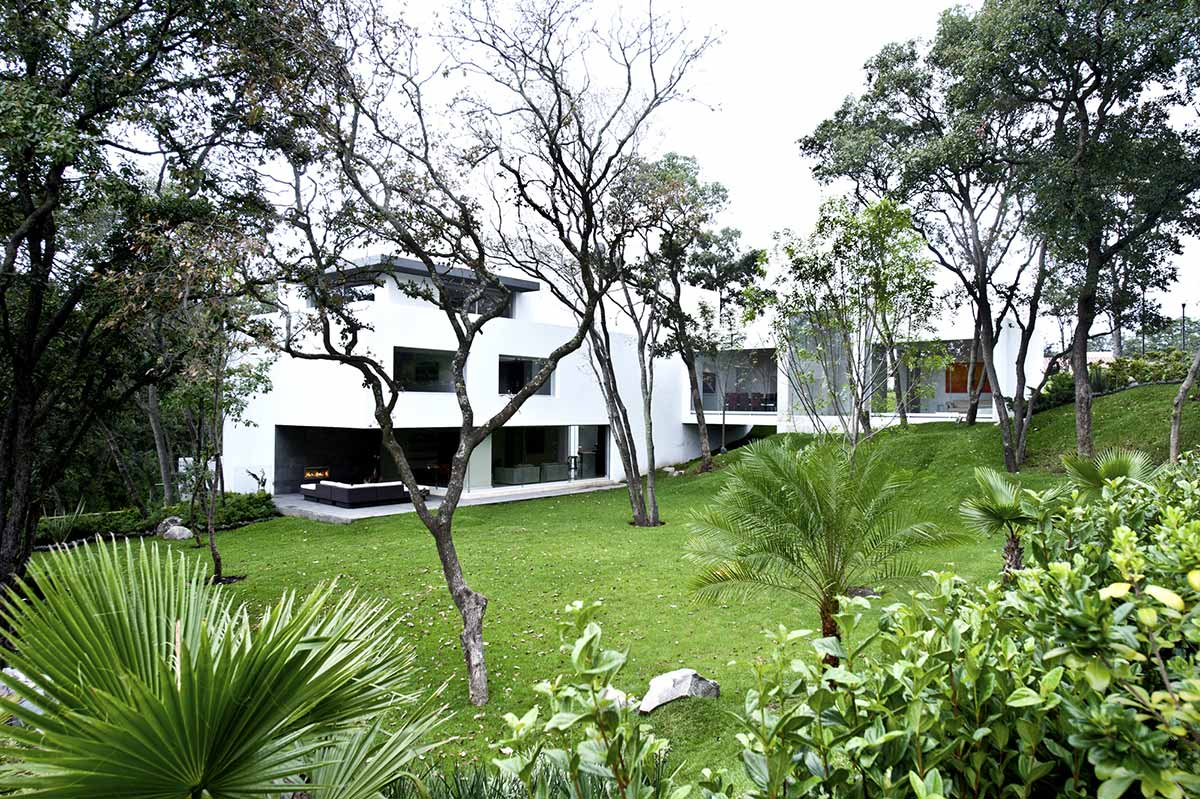 Garden, Sophisticated Three Story Home in Mexico