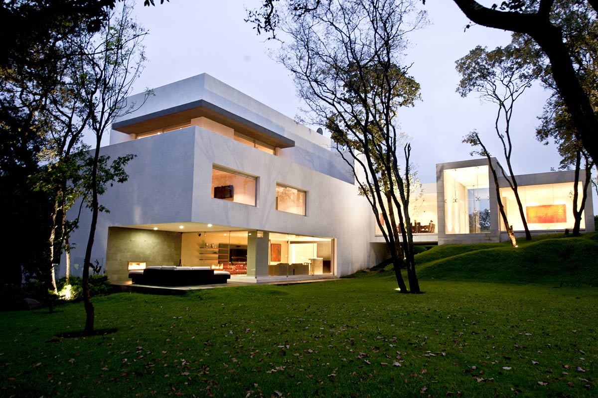 Outdoor Living, Sophisticated Three Story Home in Mexico