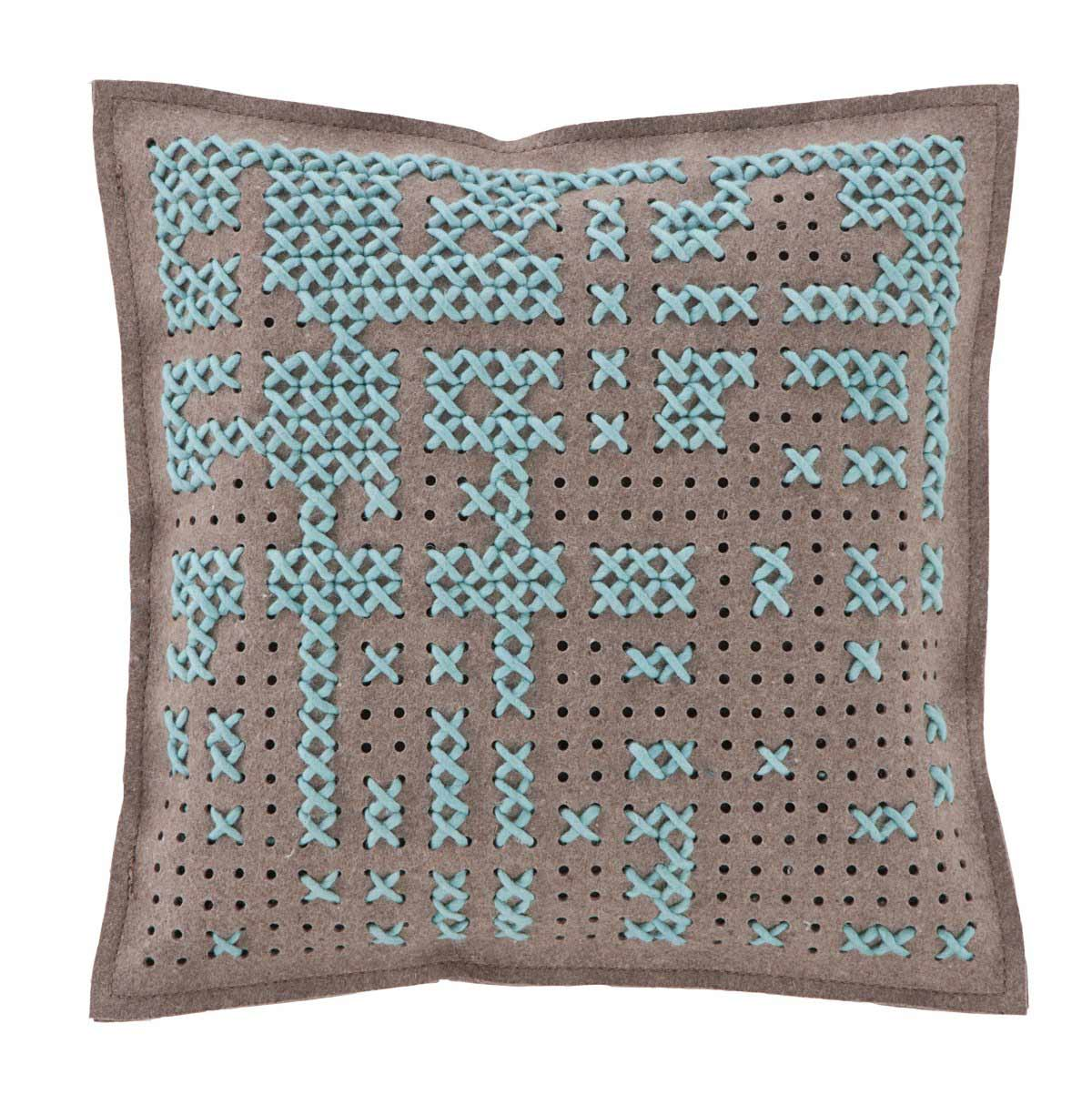 Blue Cushion, Canevas Collection by Charlotte Lancelot