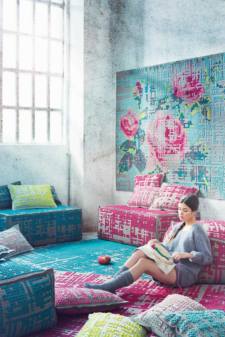 Canevas Collection by Charlotte Lancelot for Gan Rugs
