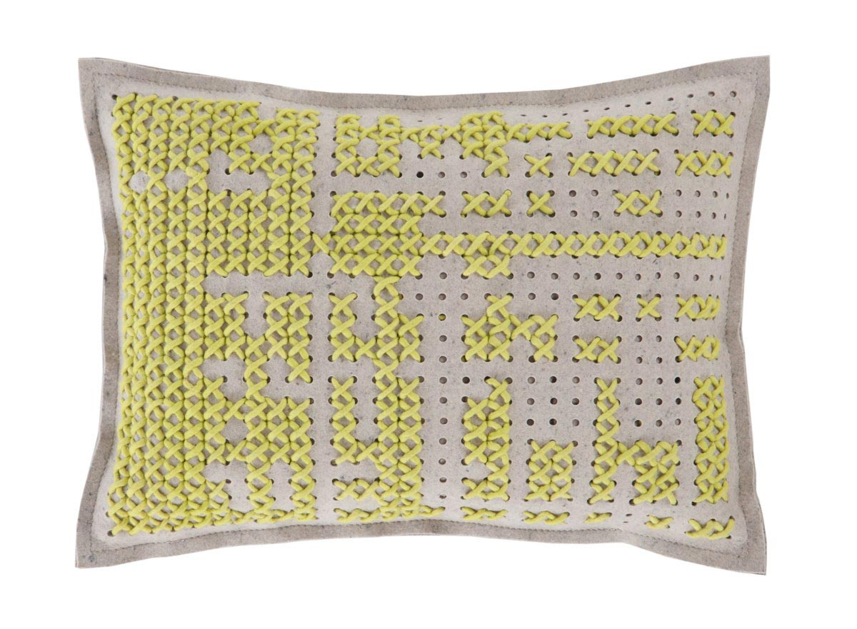 Yellow Cushion, Canevas Collection by Charlotte Lancelot