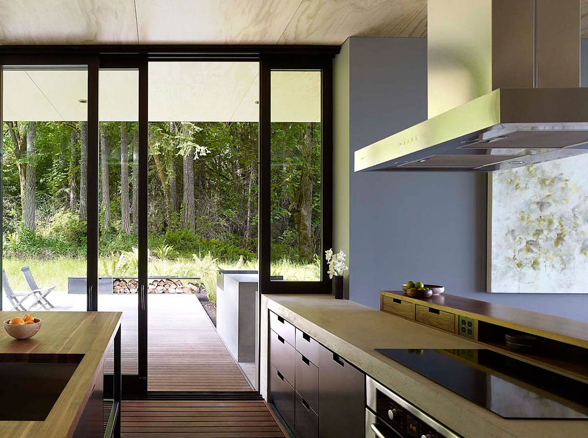 Kitchen, Vacation Home with Amazing Inlet Views in Washington