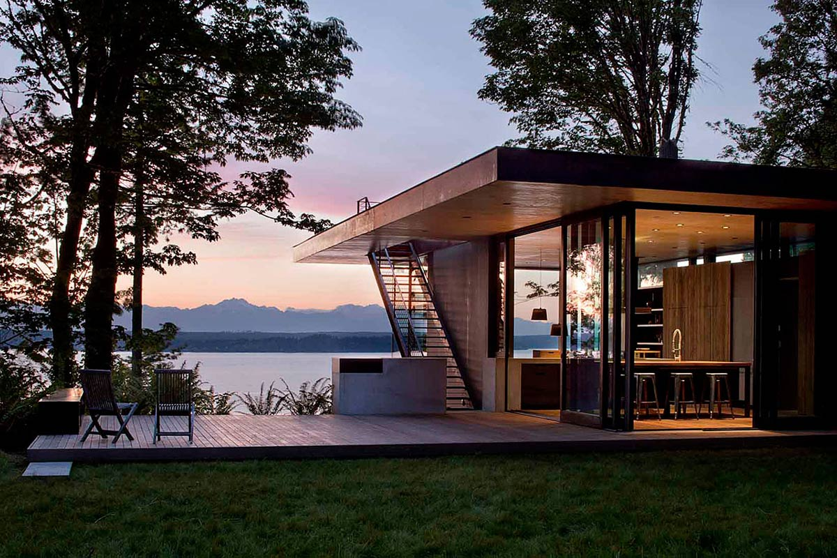 Terrace, Outdoor Living, Vacation Home with Amazing Inlet Views in Washington