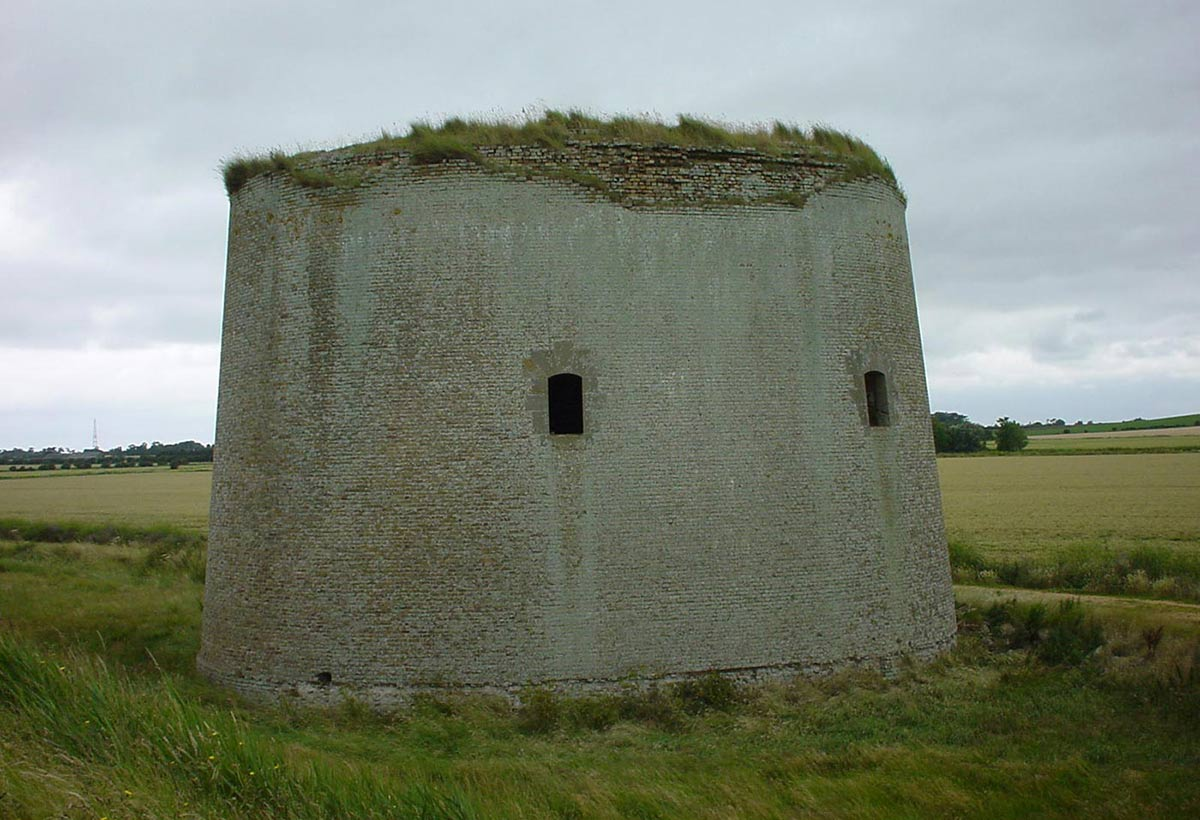 The Tower Before Conversion, Defence Tower Conversion in Suffolk, England
