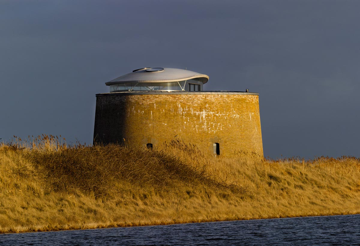 Defence Tower Conversion in Suffolk, England