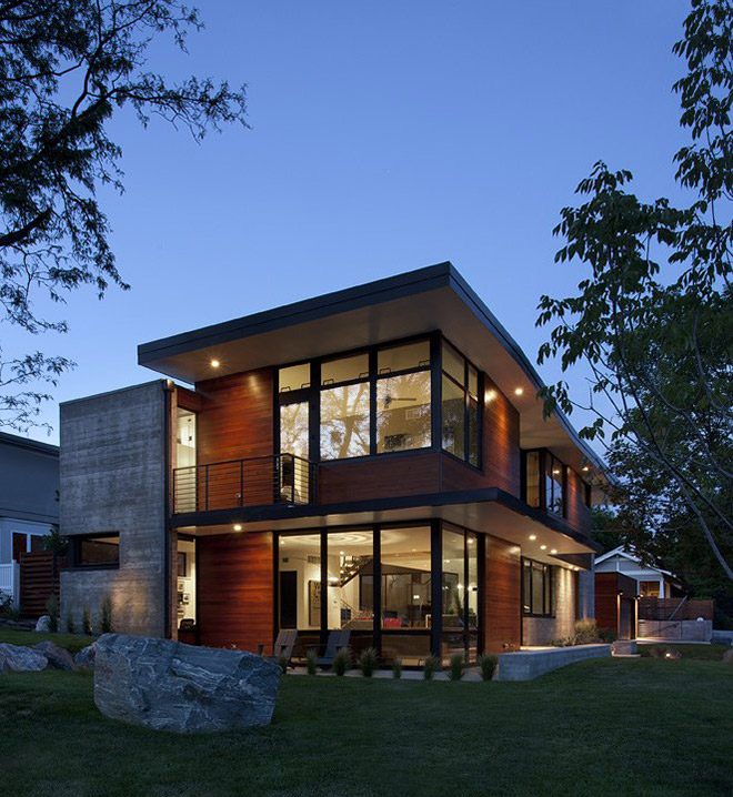 Dihedral House Boulder Colorado