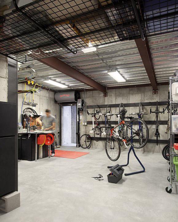 Workshop, Dihedral House, Boulder, Colorado