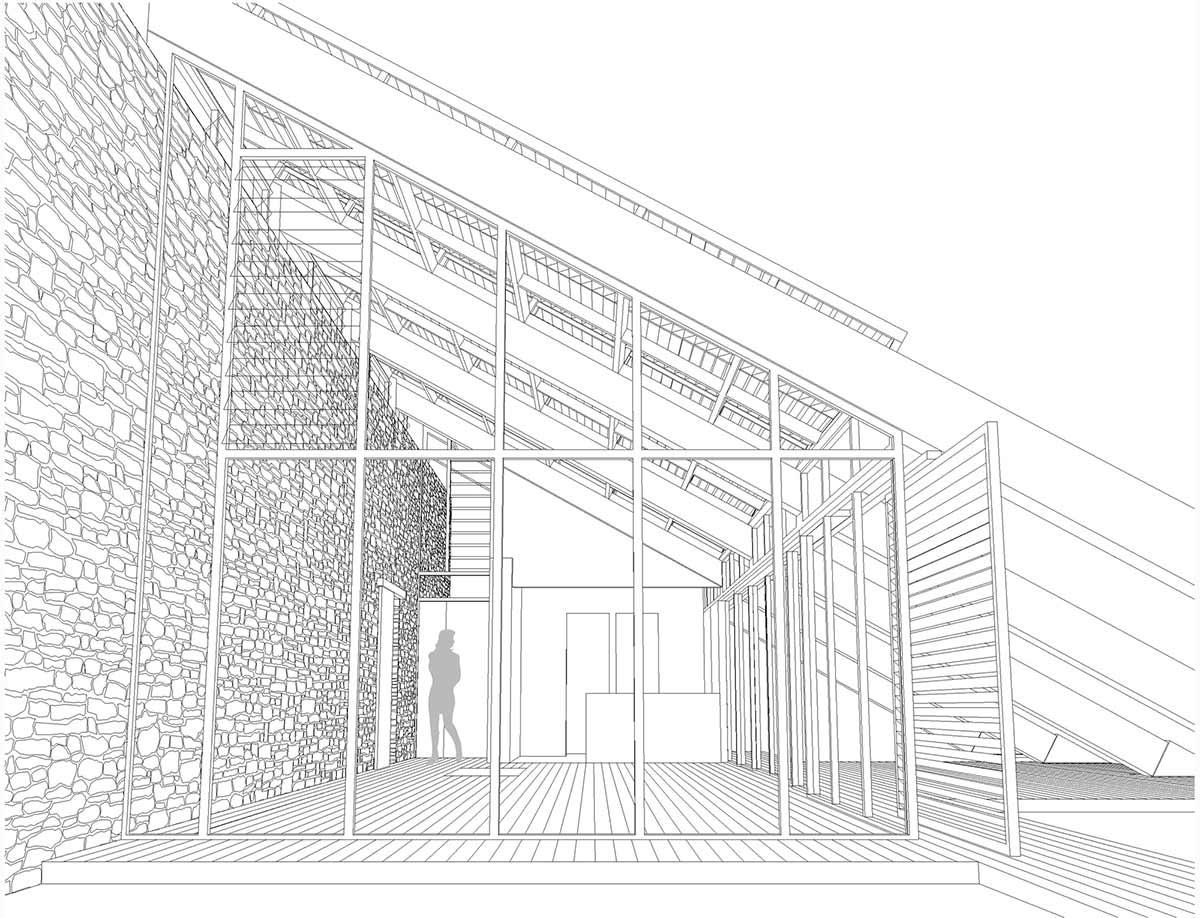 Plan, Experimental Bioclimatic House Tenerife