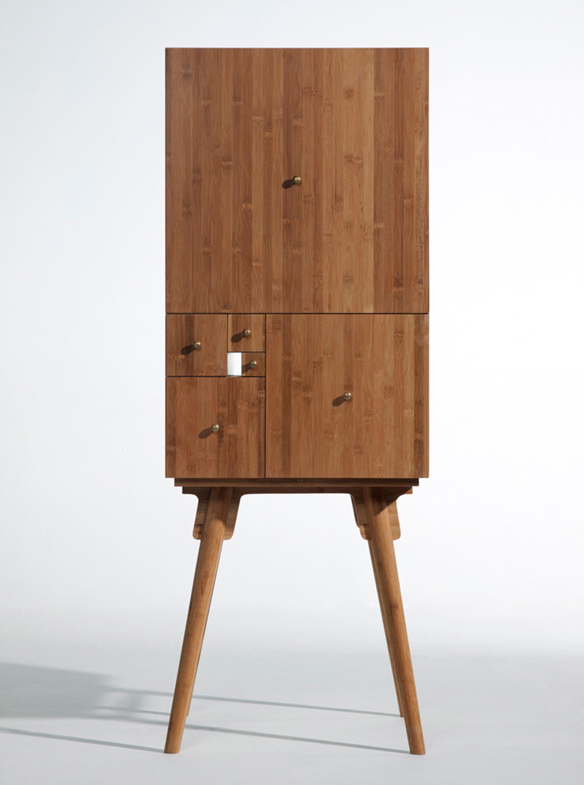 Curious Cabinet Inspired by the Mathematician Fibonacci