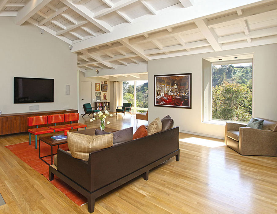 Living Space, Hollywood Hills Home Formerly Owned by Hal Levitt