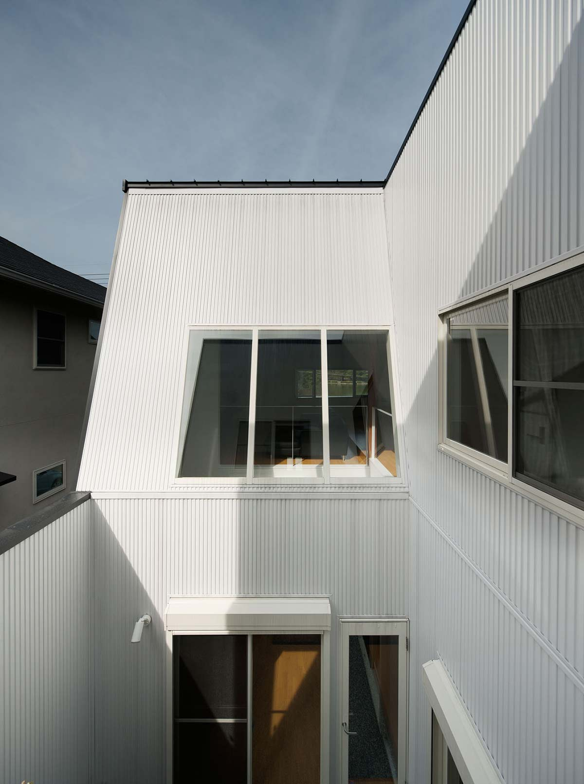 Courtyard, Hansha Reflection House, Nagoya, Japan