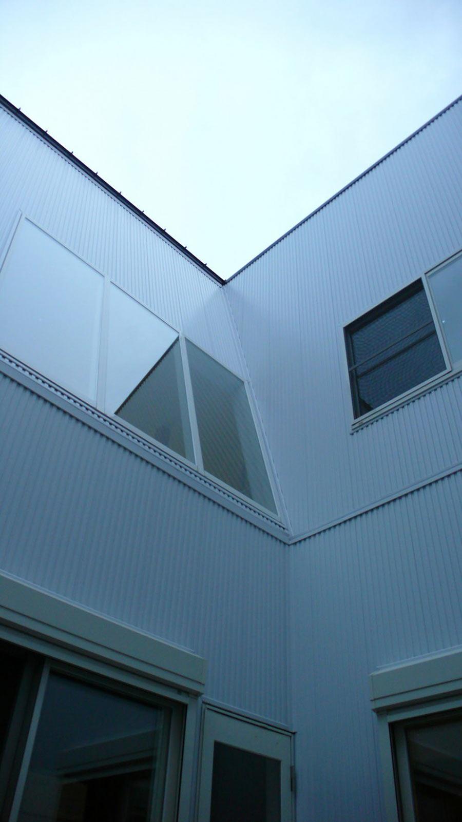 Courtyard, Hansha Reflection House, Nagoya, Japan