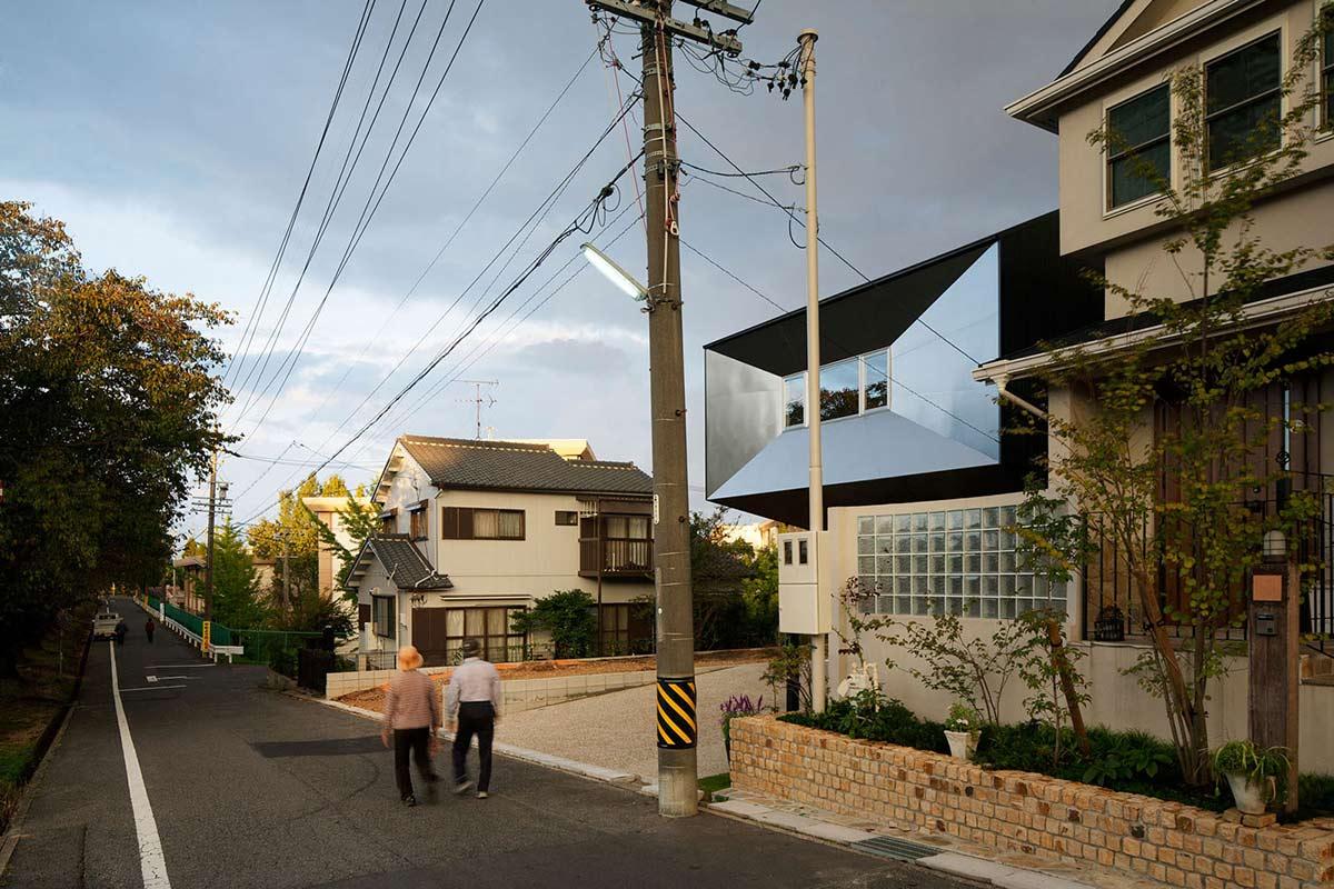 Street View, Hansha Reflection House, Nagoya, Japan