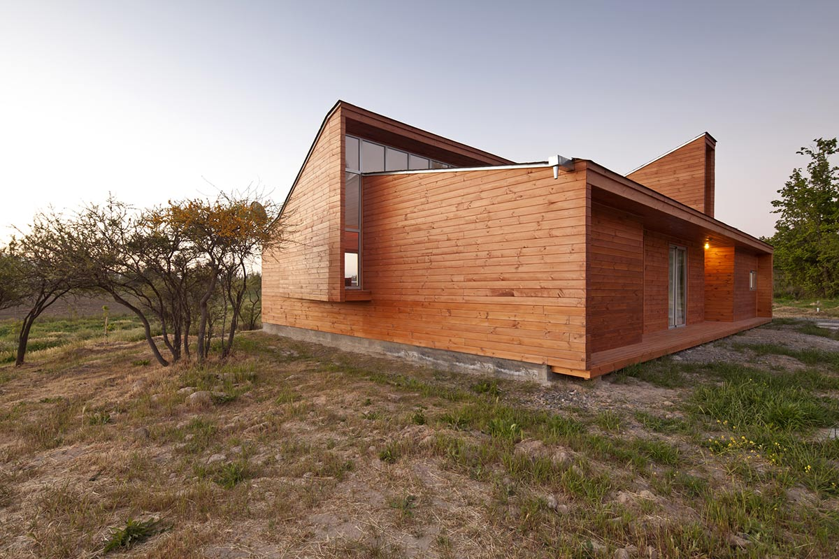 Home in Chile with Japanese Influences