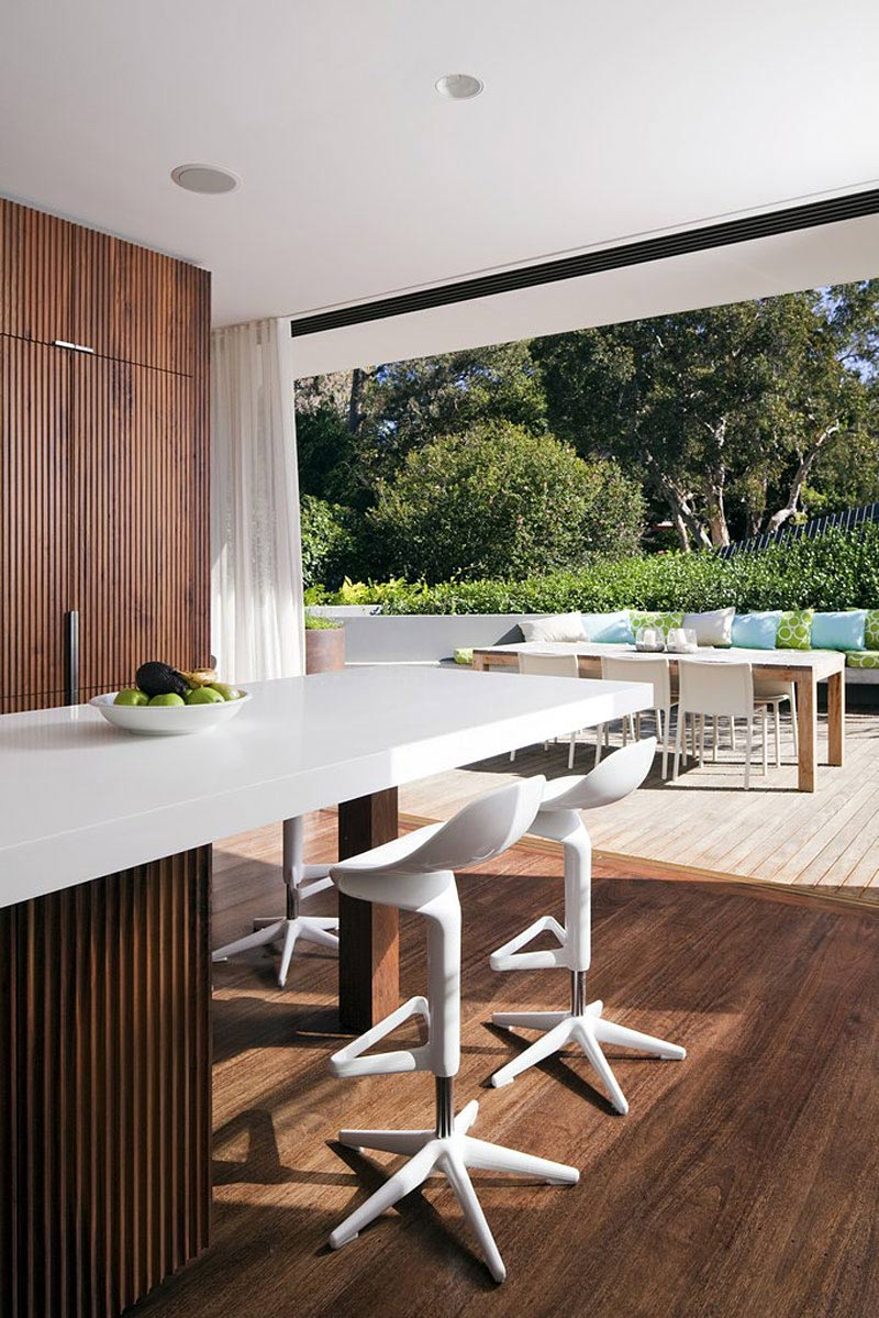 Breakfast Table, Family Home Renovation Bellevue Hill, Sydney