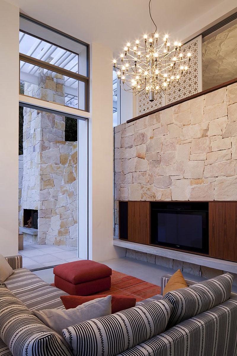 Living Room, Lighting, Family Home Renovation Bellevue Hill, Sydney