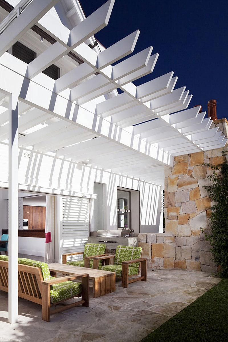Outdoor Dining, Family Home Renovation Bellevue Hill, Sydney