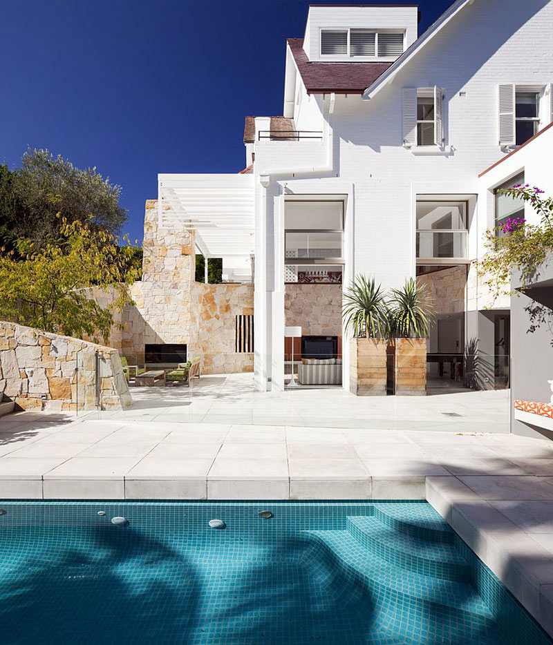 Pool, Terrace, Family Home Renovation Bellevue Hill, Sydney