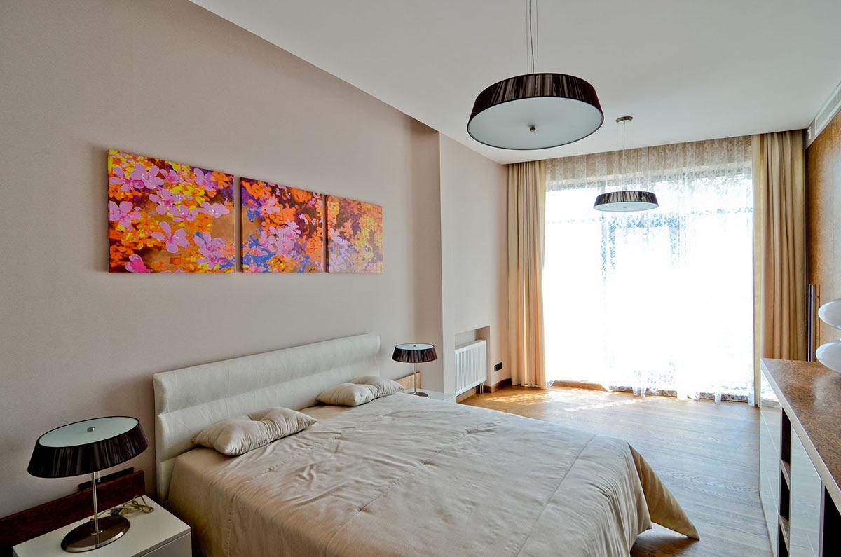 Bedroom, Large Family Residence in Kiev, Ukraine