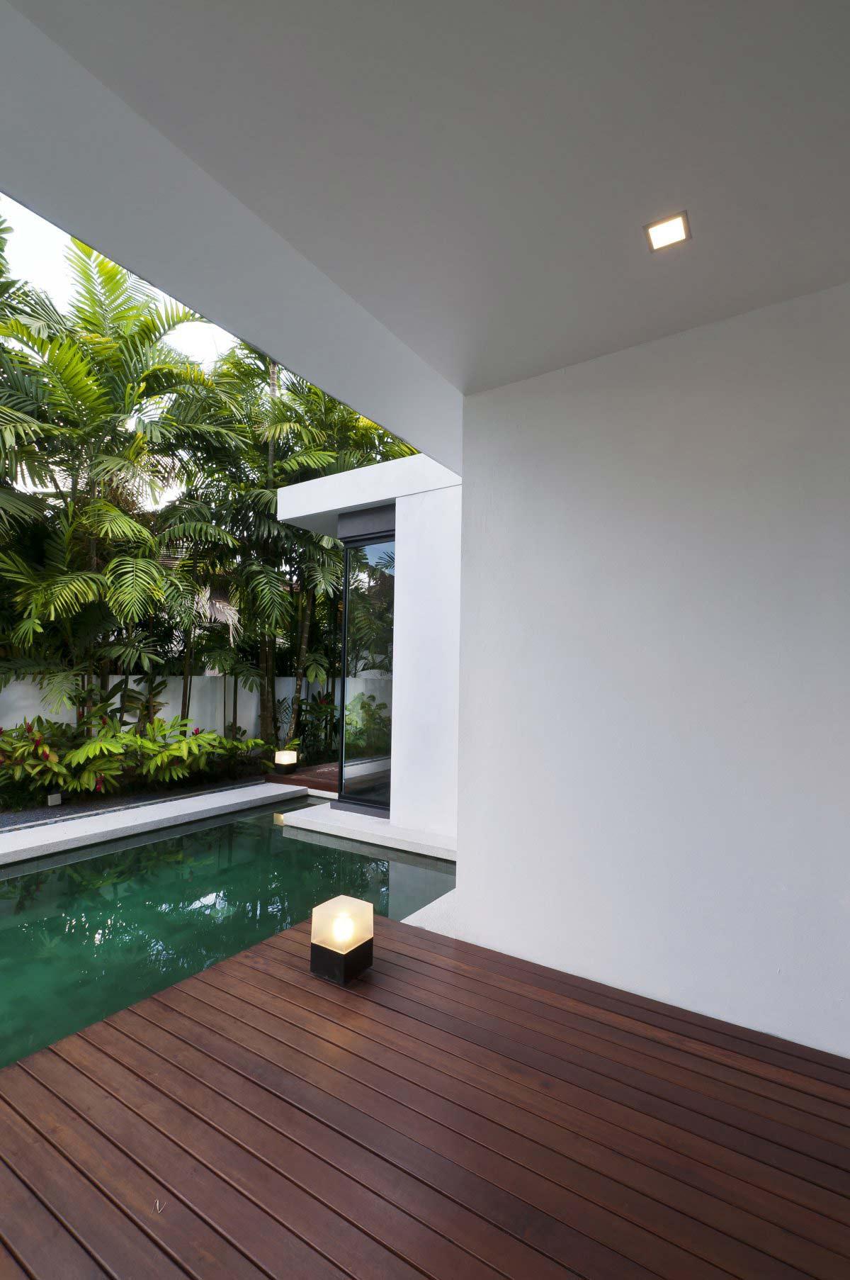 Deck, Pool, Modern Home in Kuala Lumpur