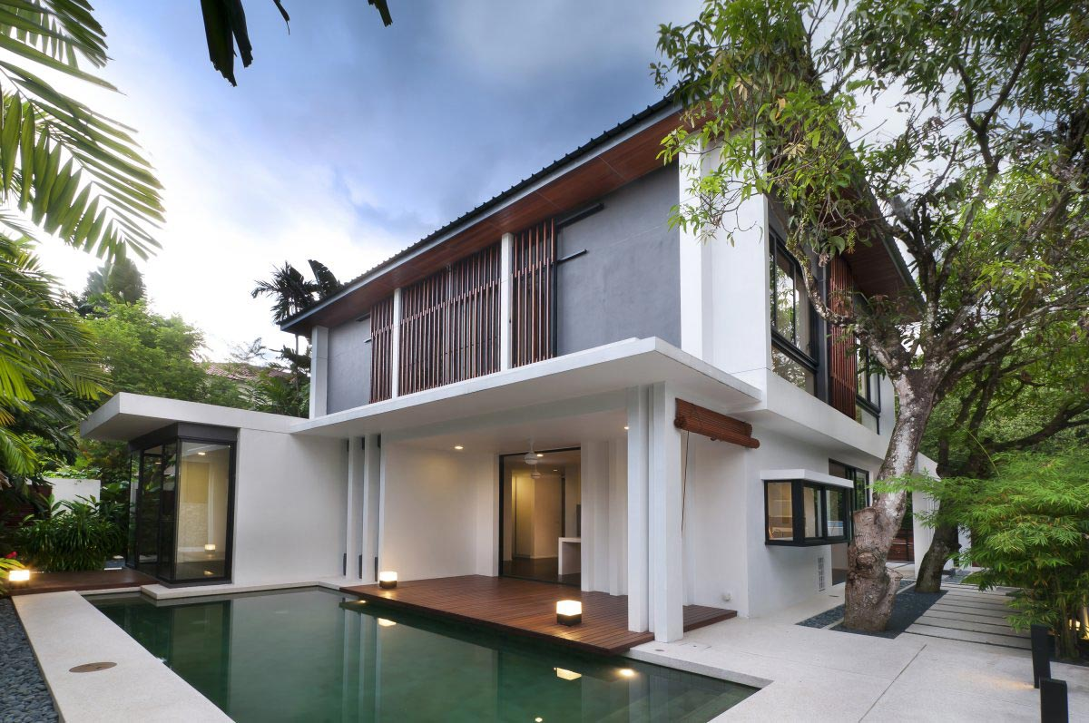 Modern home in kuala lumpur for House plans in malaysia