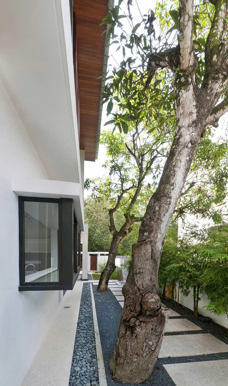 Paving, Modern Home in Kuala Lumpur