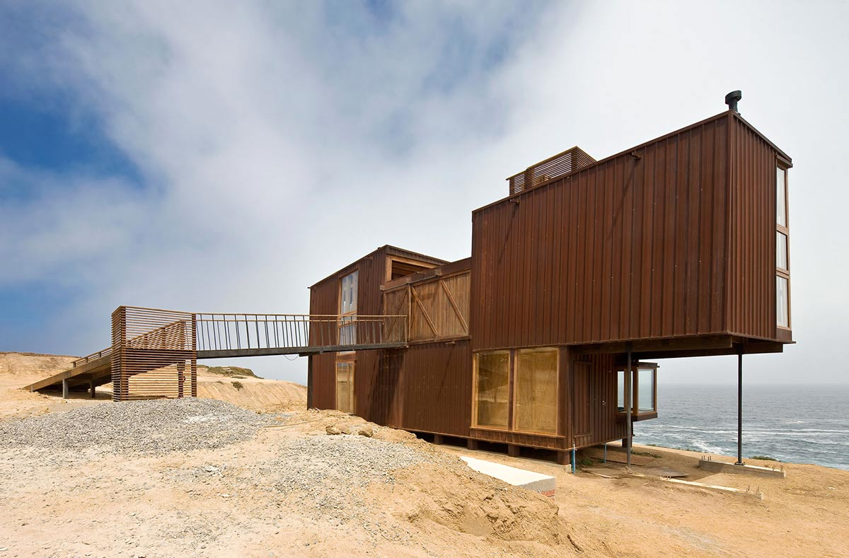 Beachfront Home in Chile