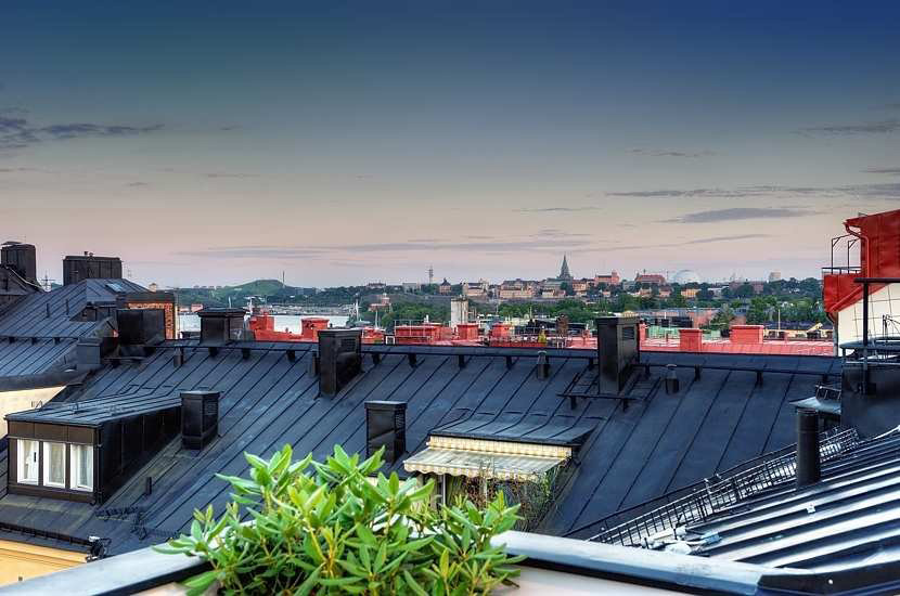 Views over Stockholm, Contemporary Loft Apartment in Stockholm