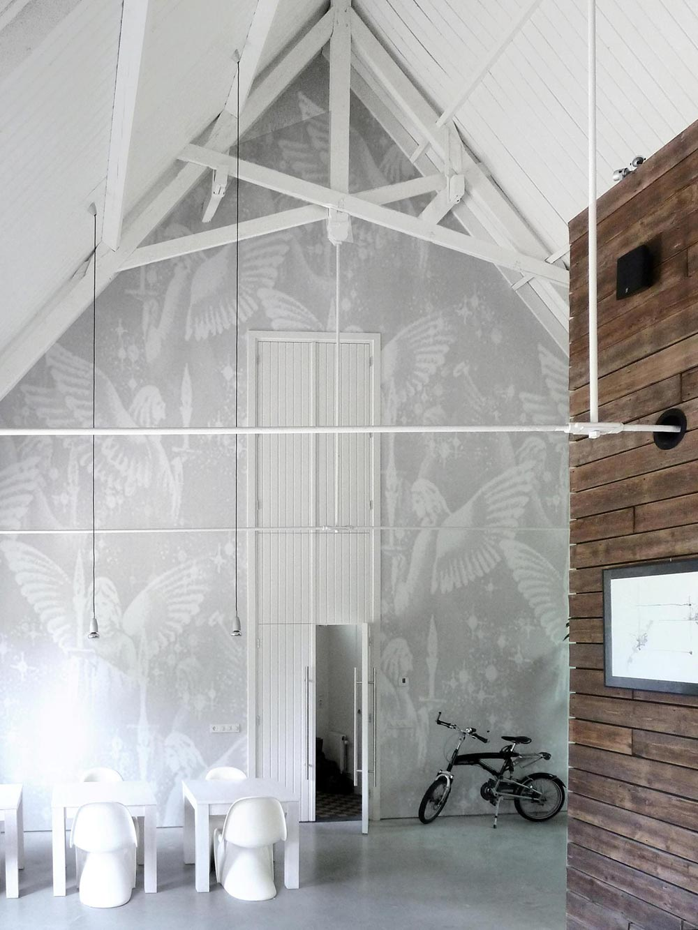 Angel Wallpaper, Unique Loft Conversion in The Netherlands