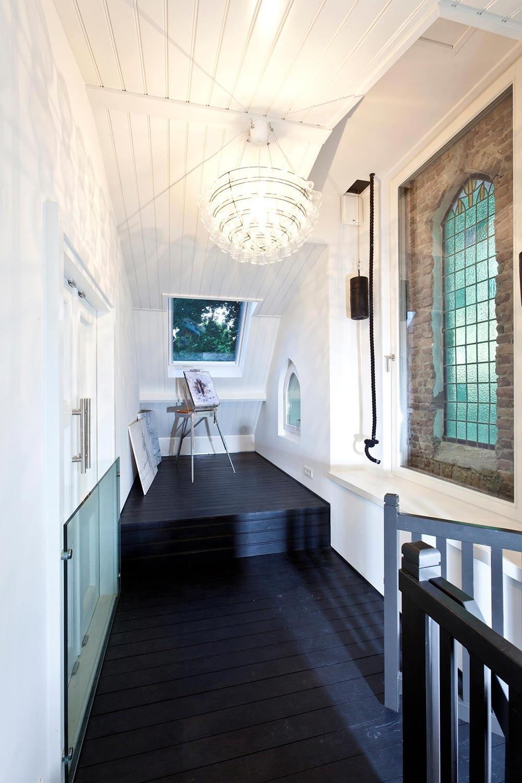 Church Bell, Lighting, Art Studio, Unique Loft Conversion in The Netherlands