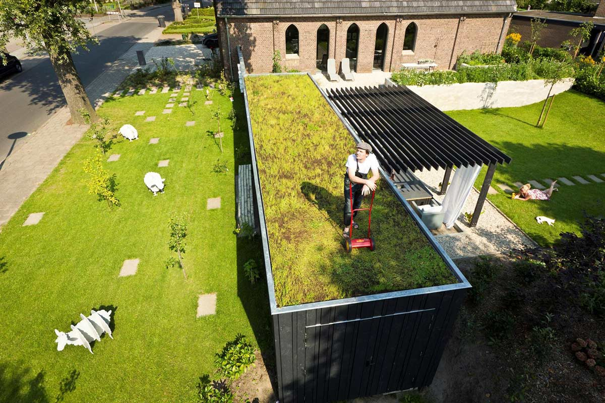 Roof Lawn, Unique Loft Conversion in The Netherlands