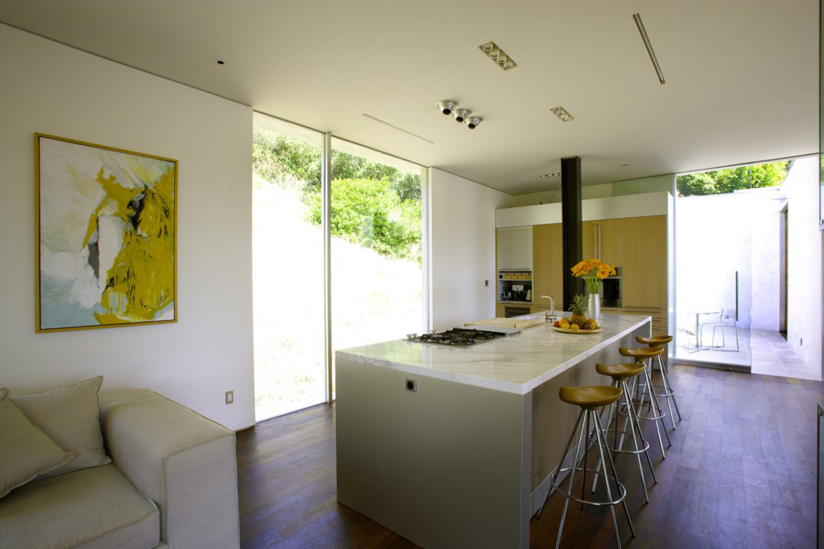 Kitchen, Modern Residence in Beverly Hills