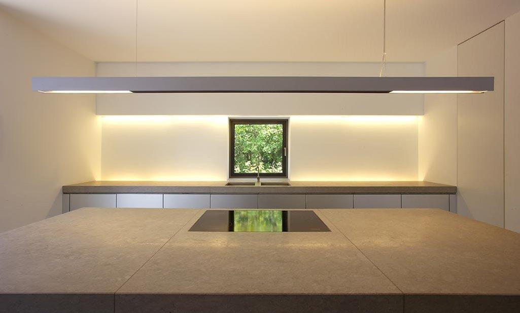 Kitchen Island, Möllmann Residence in Bielefeld, Germany