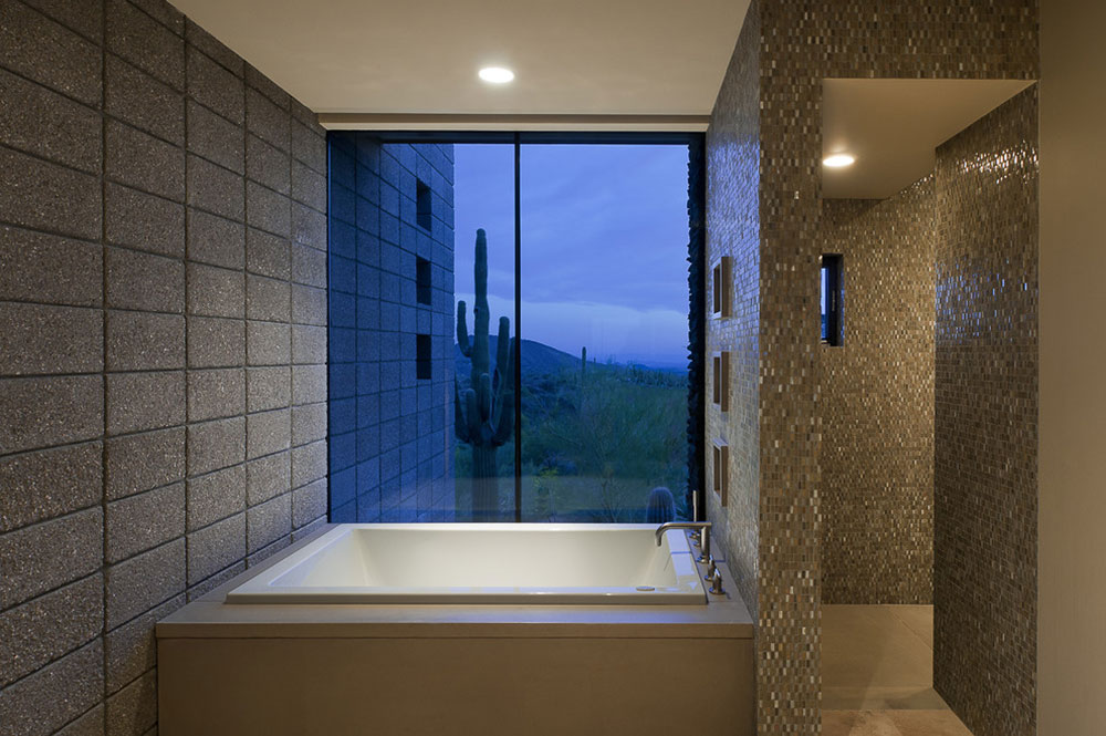 Bathroom, Modern Home in Scottsdale, Arizona