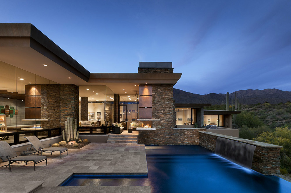 Modern Home with Mountain Views in Scottsdale, Arizona