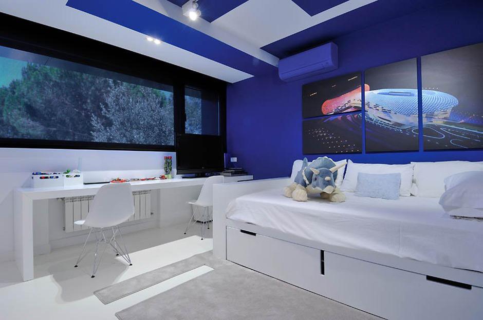 Childrens Bedroom, Modern Renovation in Madrid, Spain