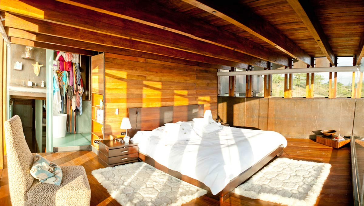 Bedroom, Mountain Home with Incredible Views in Ecuador