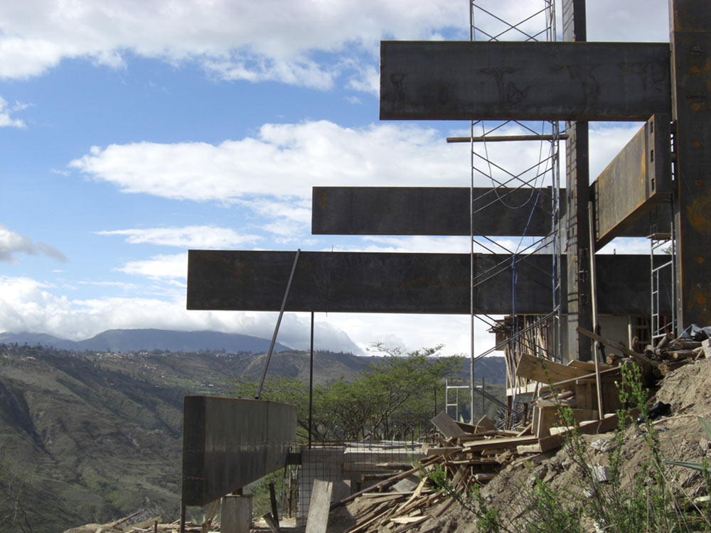 Construction, Mountain Home with Incredible Views in Ecuador