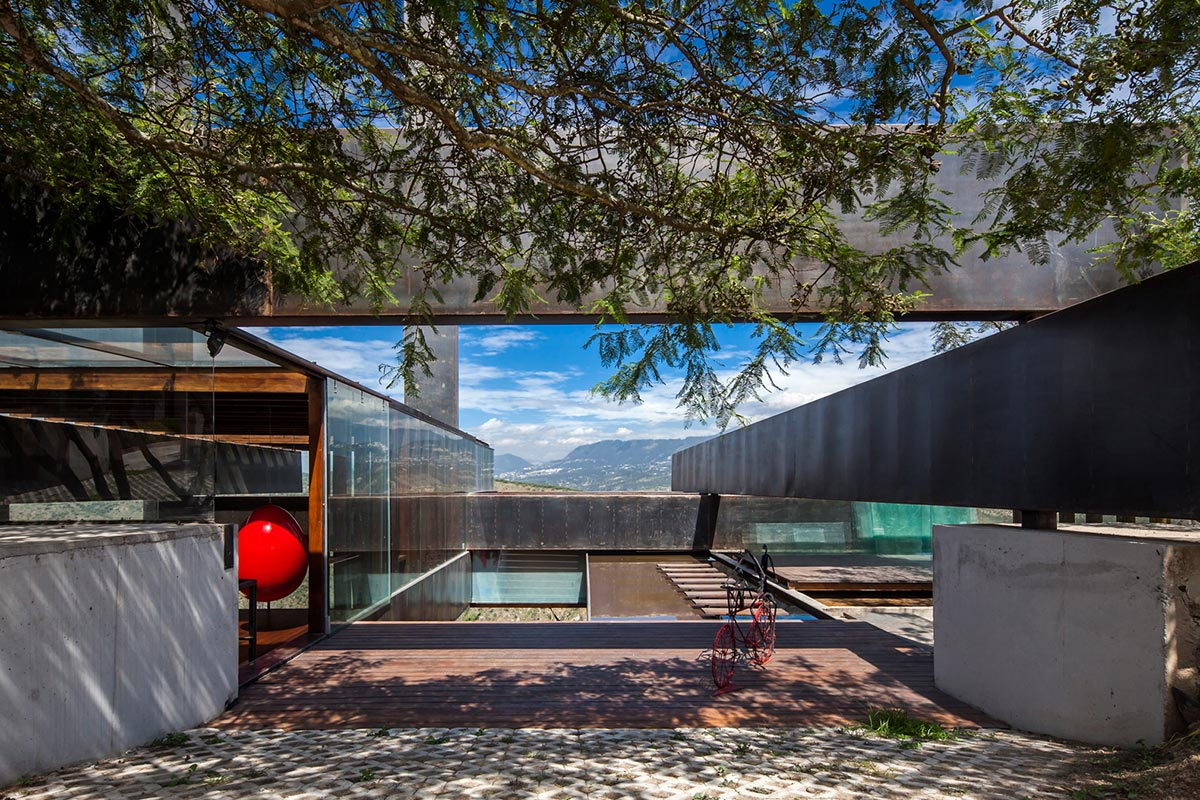 Entrance, Mountain Home with Incredible Views in Ecuador