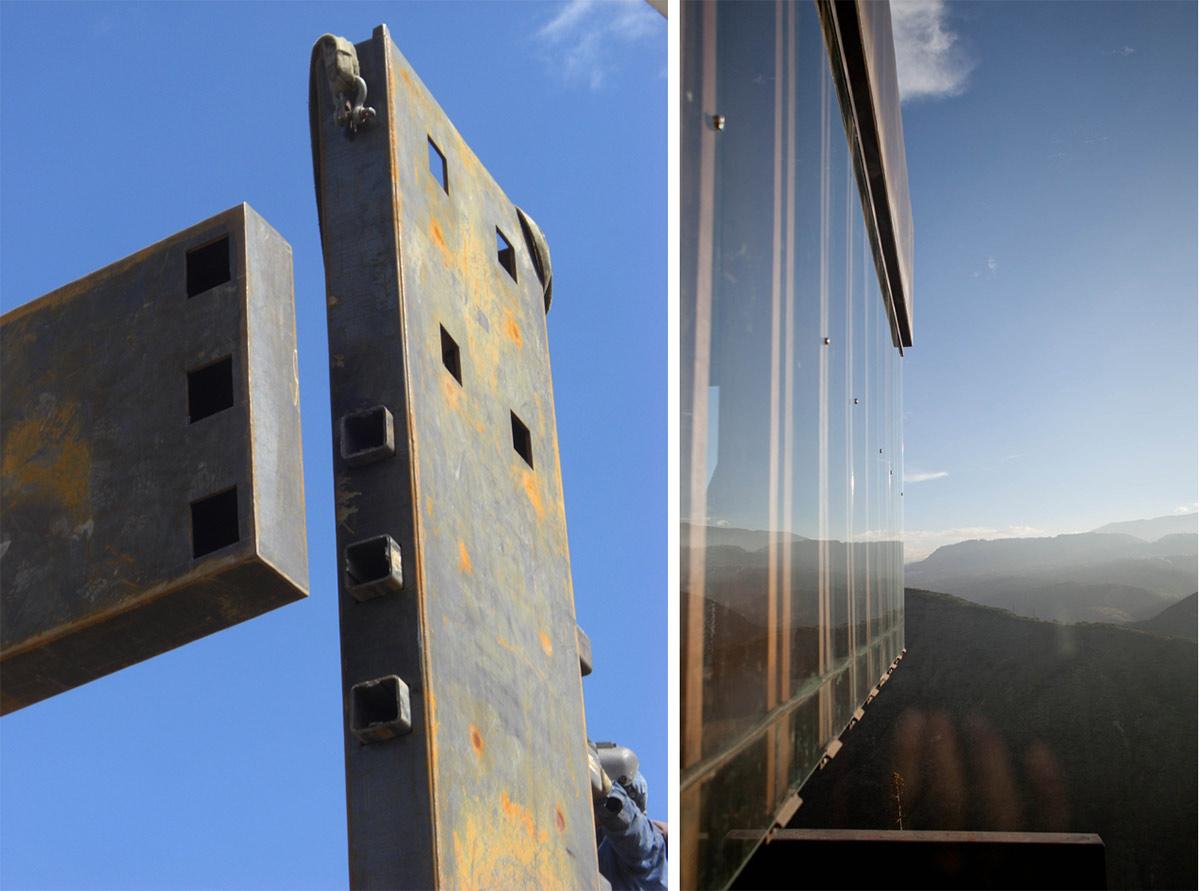 Construction, Glass Walls, Views, Mountain Home with Incredible Views in Ecuador