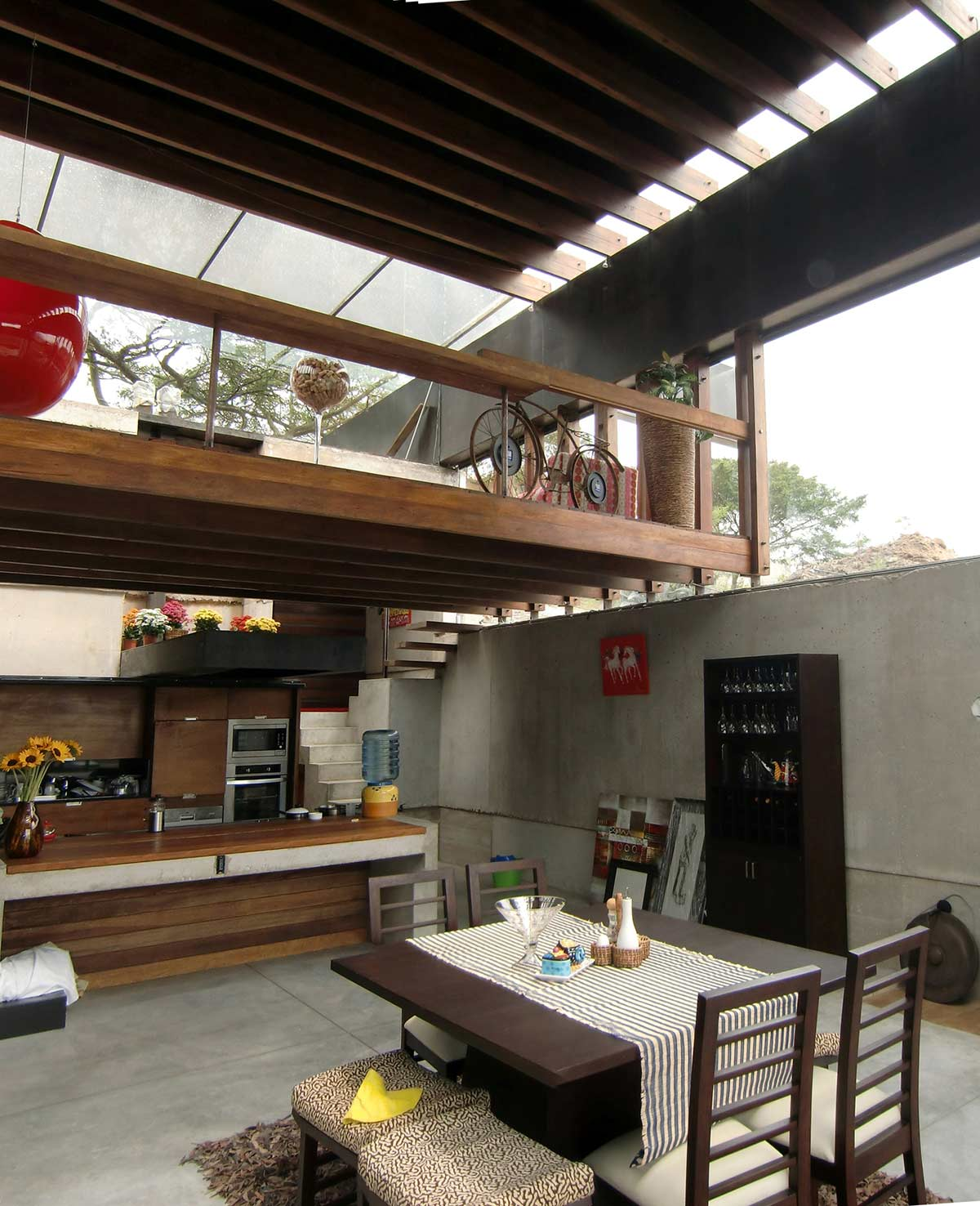 Kitchen, Dining, Mountain Home with Incredible Views in Ecuador