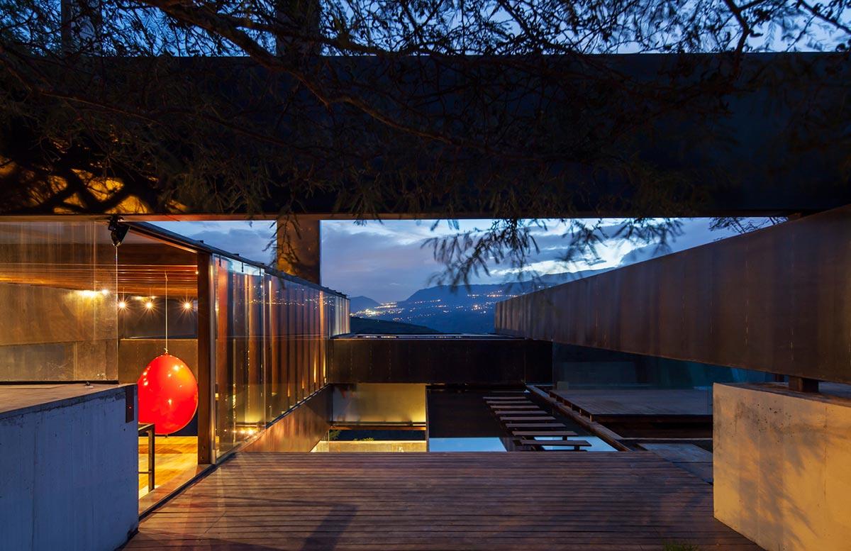 Outdoor Living Space, Terrace, Mountain Home with Incredible Views in Ecuador